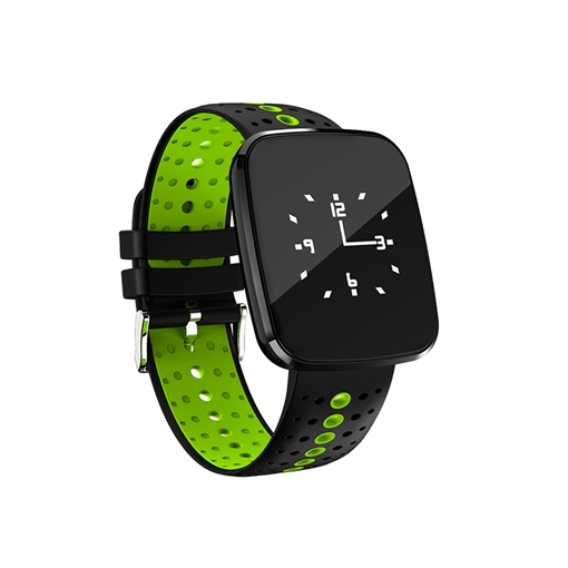 V6 Smart Watch Waterproof with Blood Pressure Heart Rate Monitor