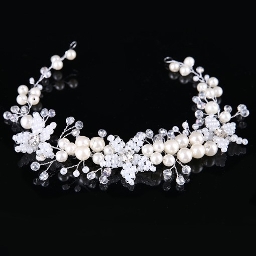 Rhinestone Korean Style Synthetic Pearl Accessories