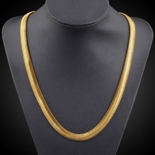Overgild 18K African Ethnic Men's Necklace