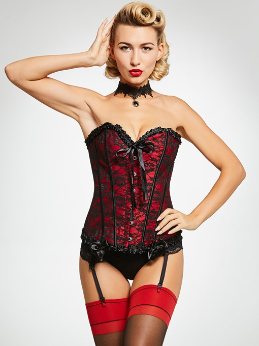 Slim Shape Lace-Up Plus Size Corset