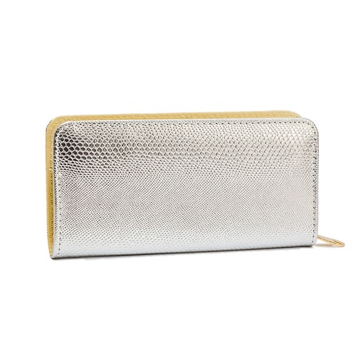 Casual Long Type Solid Color Zipper Wallet