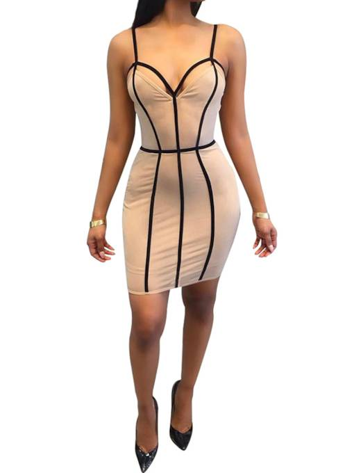 Strappy Backless Women's Sexy Dress