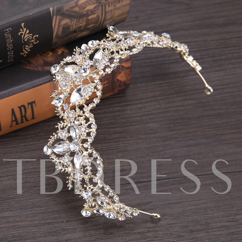 Shining Marquise Hollow Out Crown Hair Accessories