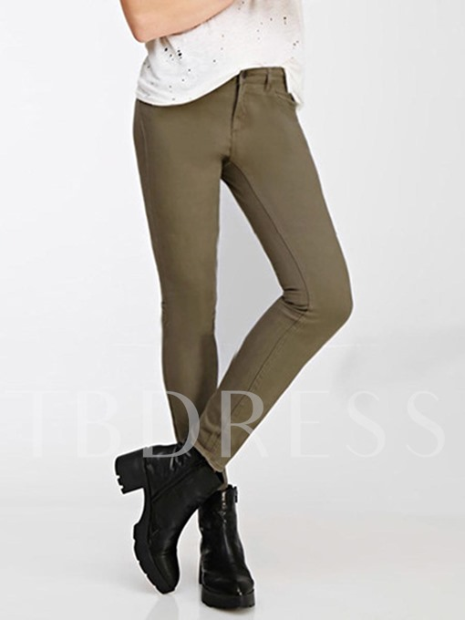 Skinny High Waist Women's Pencil Pants
