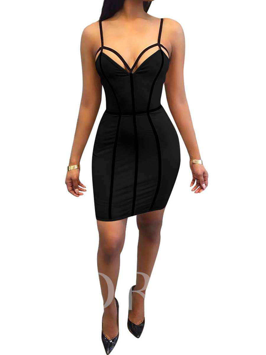 Buy Strappy Backless Women's Sexy Dress, Spring,Summer,Fall,Winter, 13082297 for $19.99 in TBDress store