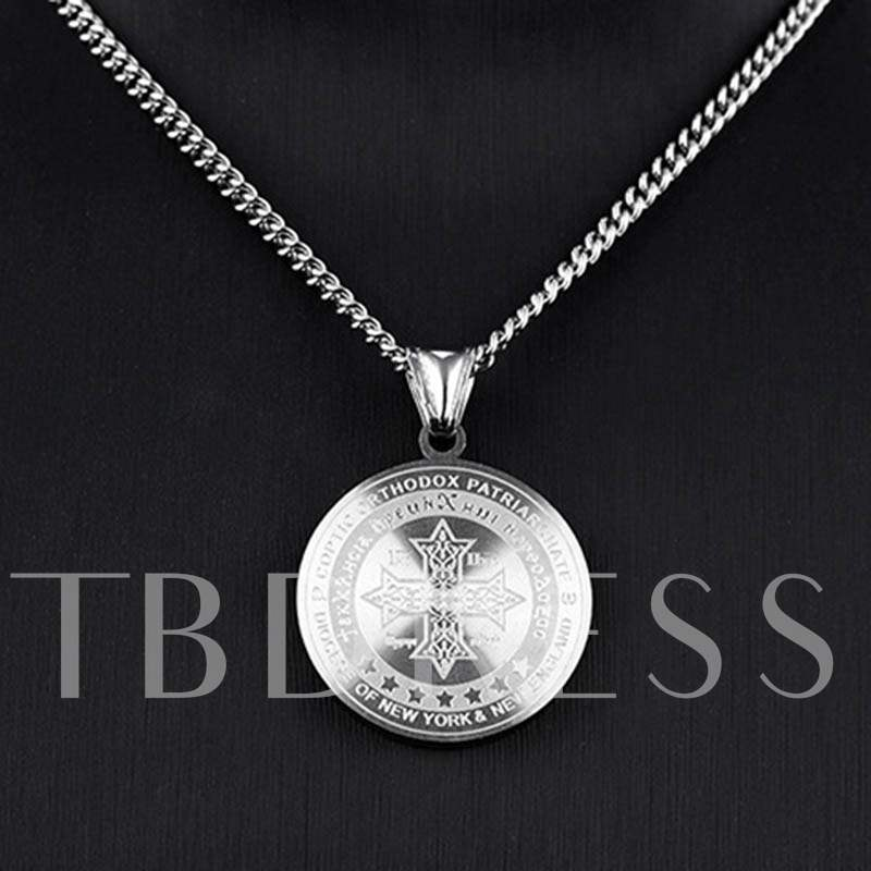 Buy Saint Benedict Godfather African Ethnic Men's Necklace, 13075441 for $11.99 in TBDress store