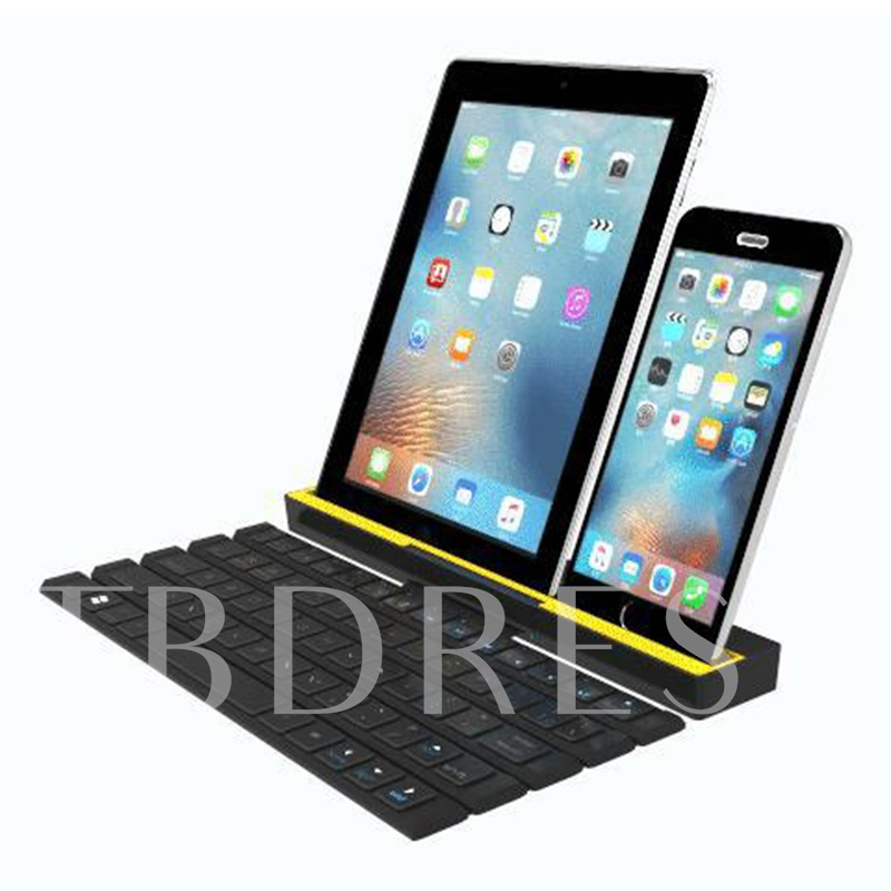 R4 Portable Wireless Ultra-thin Keyboard Support Roll-up
