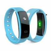 QS80 Fitness Tracker Watch Waterproof Support iPhone Android Phones
