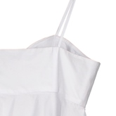 Plain Bowknot Lace-Up Falbala Patchwork Women's Tank Top