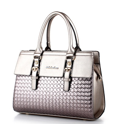 Elegant Belt-Decorated Women Satchel