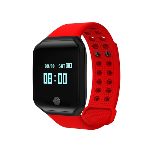 Waterproof Smartwatch Band Heart Rate Blood Pressure Monitor for Apple Android Phones