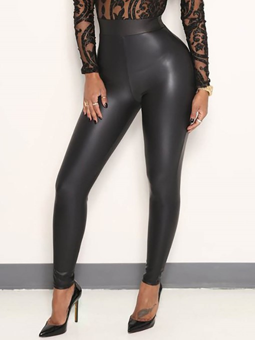 Plain Sexy Skinny Women's Leggings