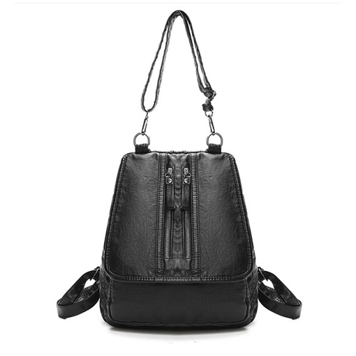 Dual-Use Solid Color Women Backpack
