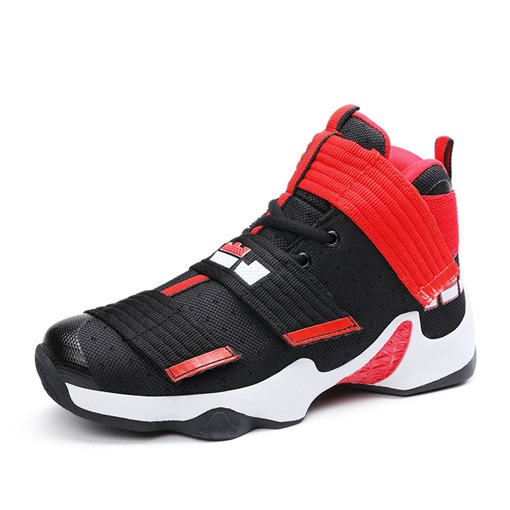 Velcro Damping Basketball Shoes Men's Shoes