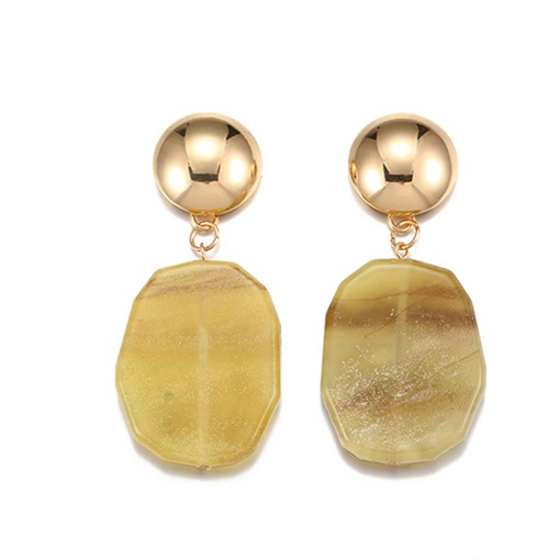 Irregular Ball New Style Acrylic Earrings