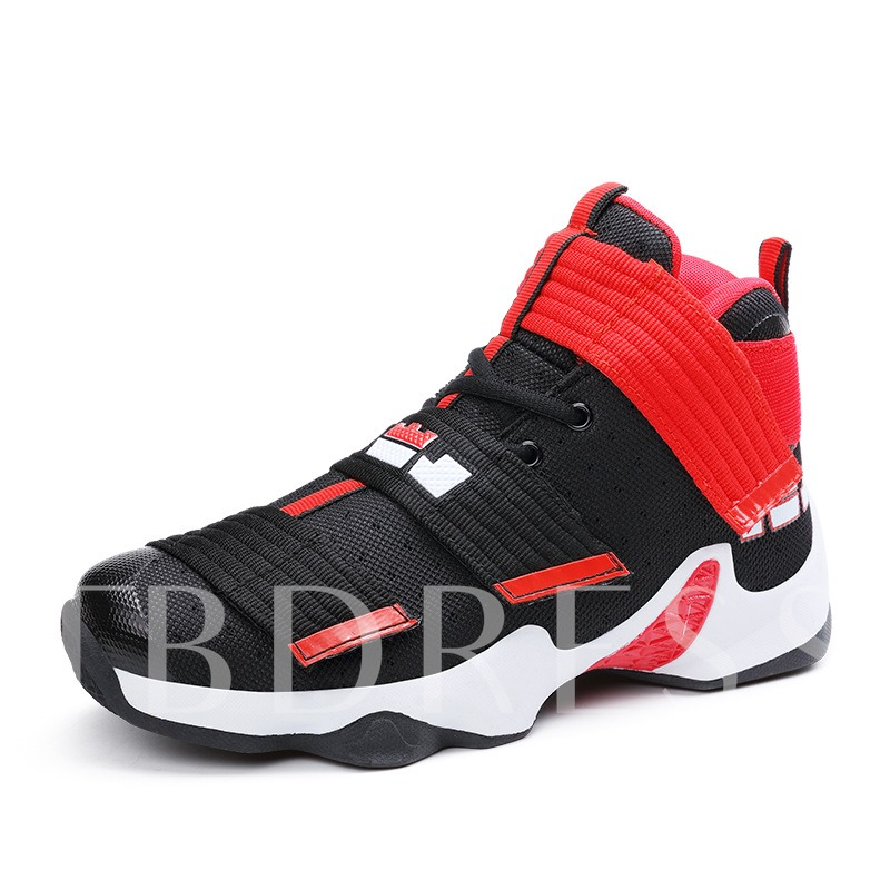 Velcro Damping Basketball Shoes Men's