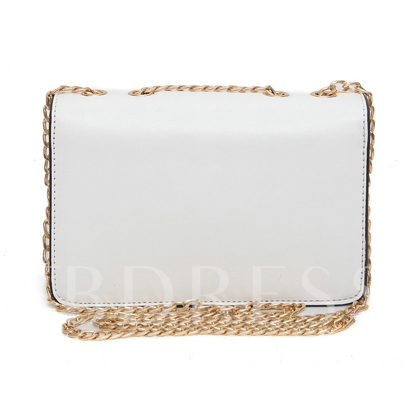 Simple Five-Pointed Star Decoration Chain Cross Body Bag