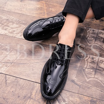 Lace Up Ventilate Dress Shoe for Party Wedding Occasion