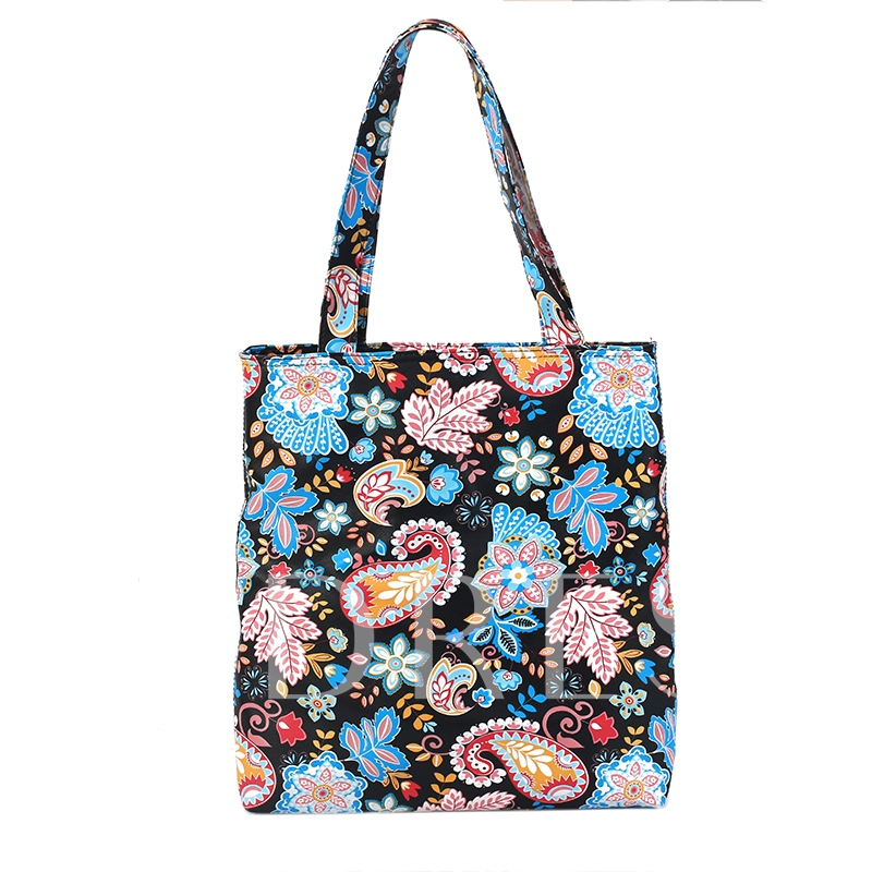 Casual Colorful Prints PU Shoulder Bag