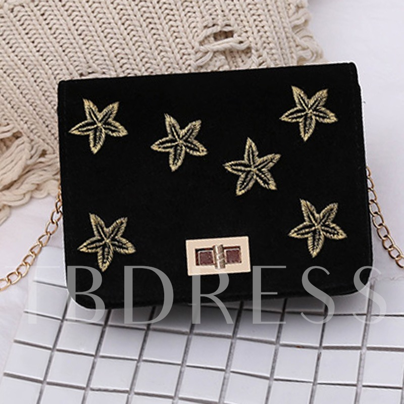 Five-Pointed Star Decoration Chain Cross Body