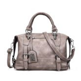 Vogue Women PU Boston Tote Bag