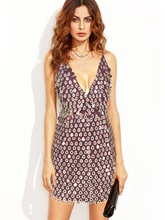 Sequins Strappy Women's Sexy Dress