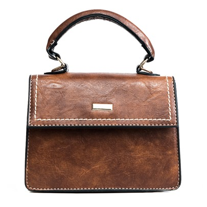 Vintage Solid Color Women Satchel