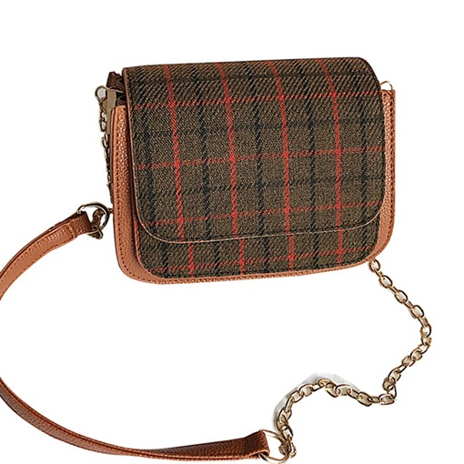 Classical Plaid Mini Cross Body Bag