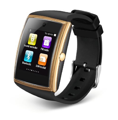 LG 518 Smart Watch with Camera/NFC IPS Curved Screen for Apple Android Phones