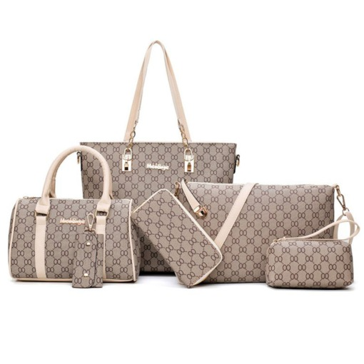 Concise Zipper Women Bag Set (4 Bags Set)