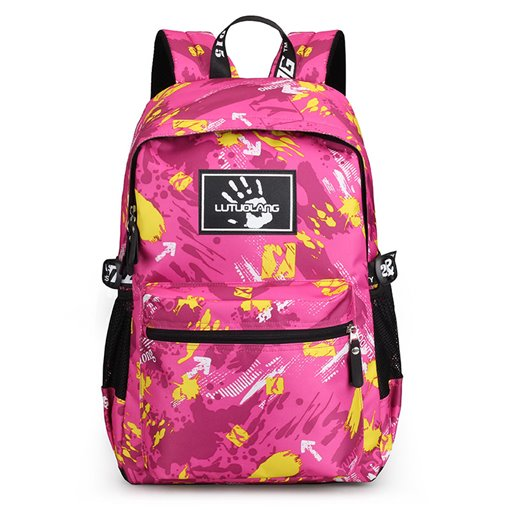 Stylish Camouflage Women Oxford Backpack