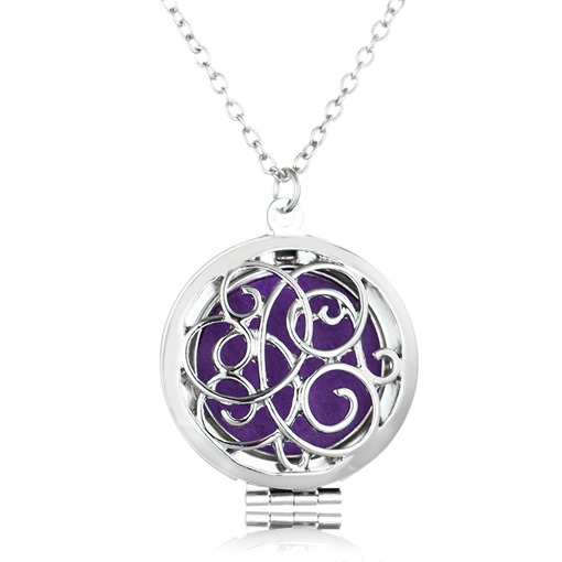 Locket Hollow Out Essential Oil Diffuser Necklace