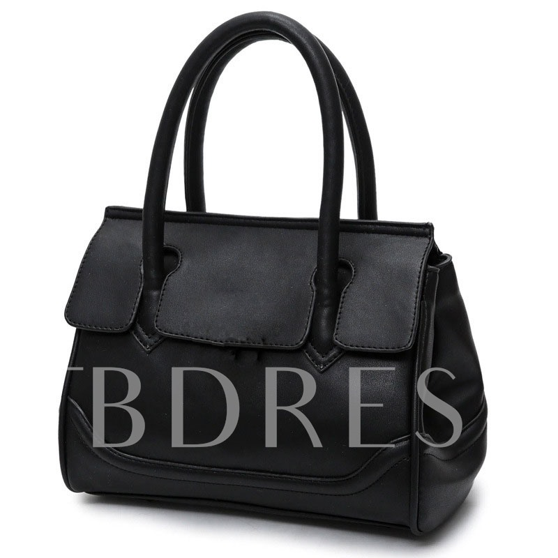Fashion Color Block Women Tote