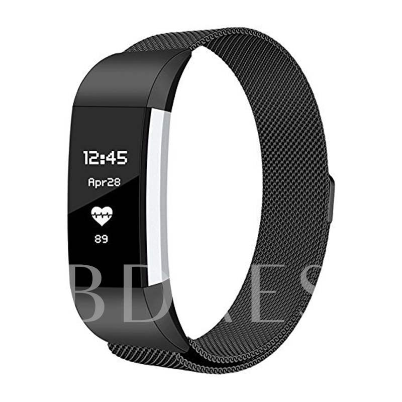 Fitbit Charge 2 Adjustable Band Stainless Steel with Magnetic Lock