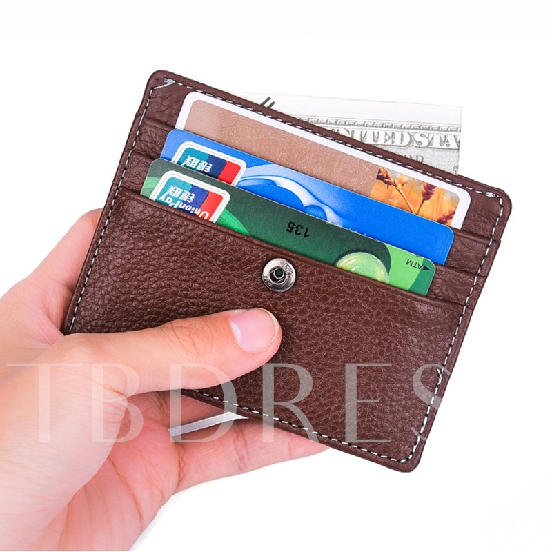 Short Type Mini PU Wallet