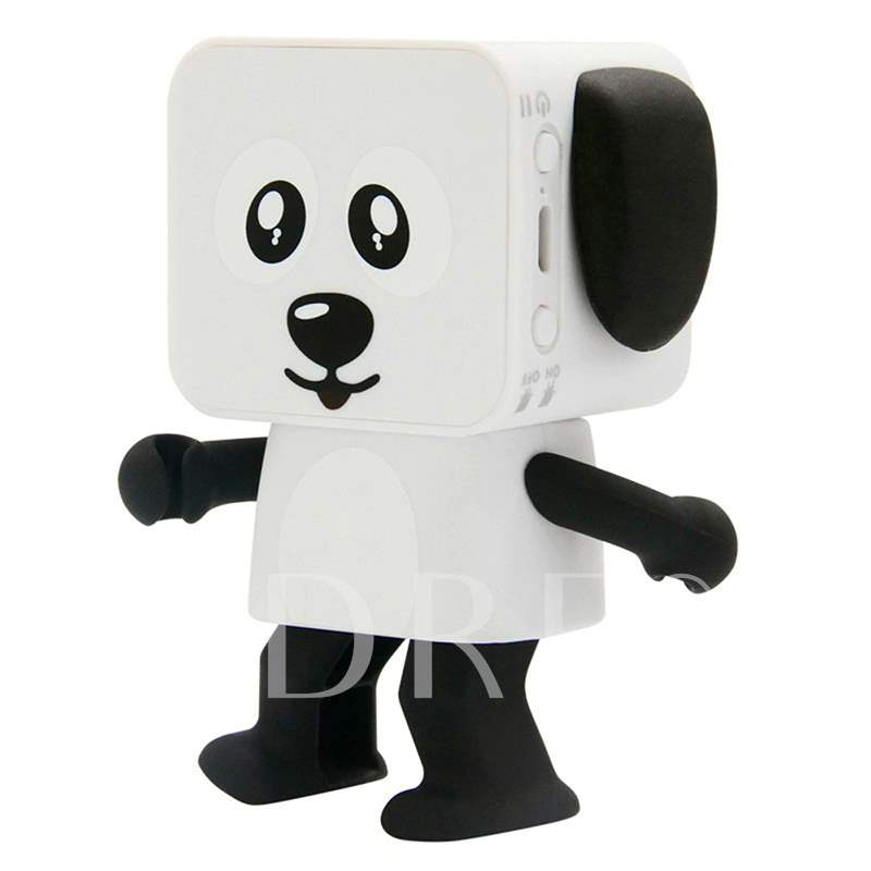 Mini Bluetooth Speaker Dance Robot Stereo Bass Speaker Gifts for Kids