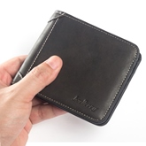Vintage Short Type PU Men's Wallet