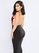 Spaghetti Straps Backless Women's Sexy Dress