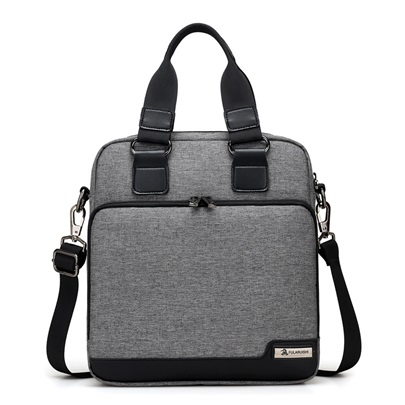 Versatile Oxford Zipper Men's Handbag