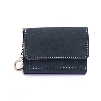 Short Type Classic Thread Wallet