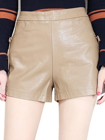 High Waist Lace Up Women's Party Shorts