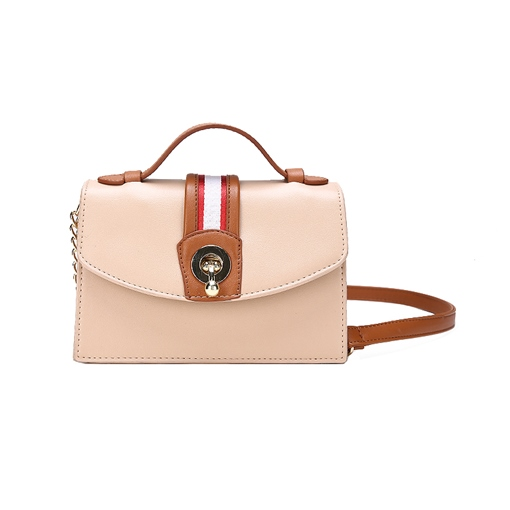 Casual Color Block PU Women Cross Body Bag
