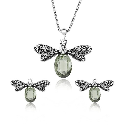 Dragonfly Shaped Box Chain Jewelry Sets