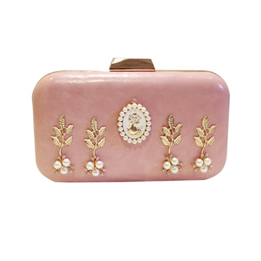 Concise Rhinestone Decoration Evening Clutch