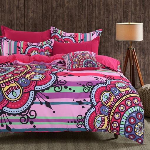 Mandala Four-Piece Bedding Set