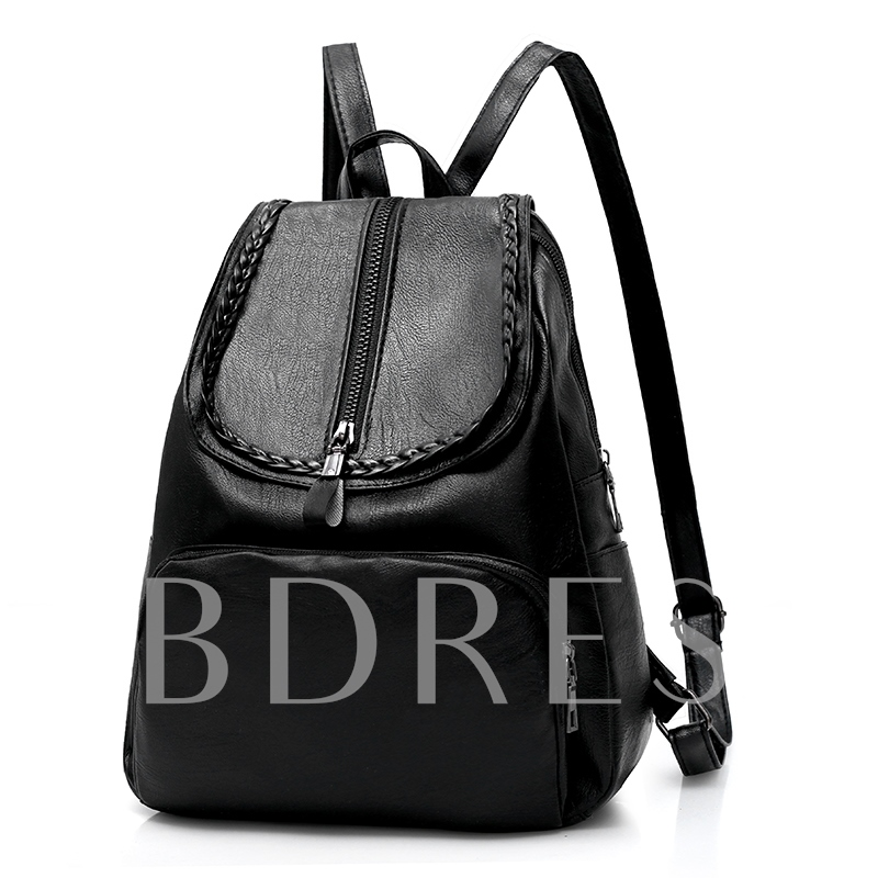 Huge Space Soft PU Women Backpack