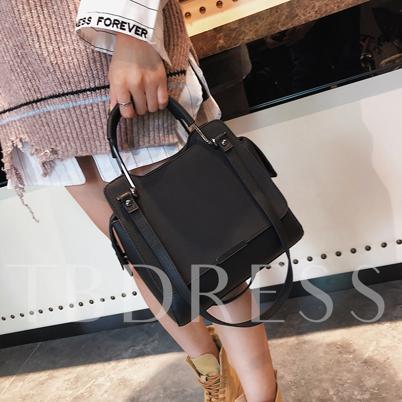 Casual Solid Color Women Tote