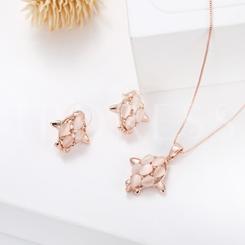 Airplane Hollow Out Alloy Jewelry Sets