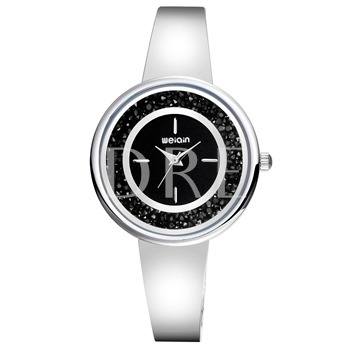 Water Resistant Glass Alloy Rhinestone Watches