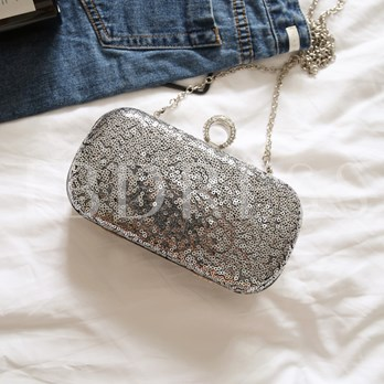 Casual Sequins Rhinestone Women Clutch